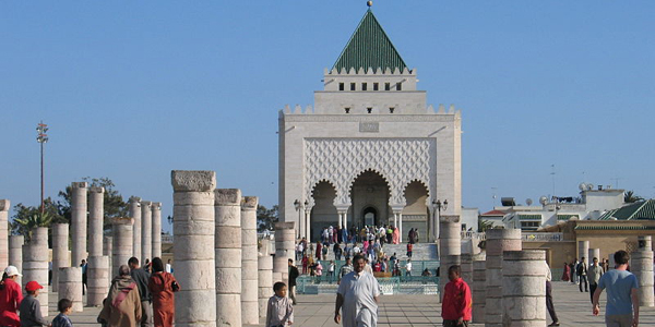 Rabat Mausole Mohammed V