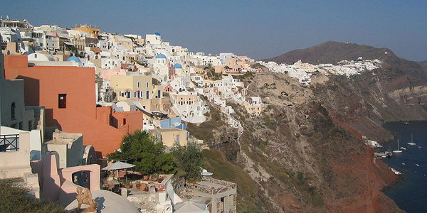 Santorini Oia Coast, Greece