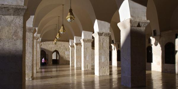 UMAYYAD MOSQUE ALEPPO, SYRIA
