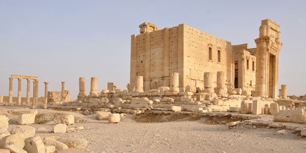 TEMPLE OF BEL - PALMYRA, SYRIA