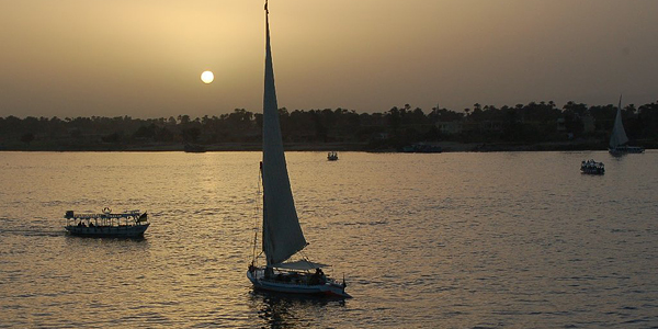 Sailing the Nile, Cairo, Egypt