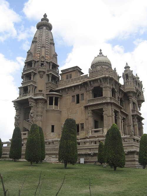 Baron Empain Palace Estate in Cairo
