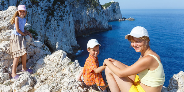 Enjoy traveling the Mediterranean with your children