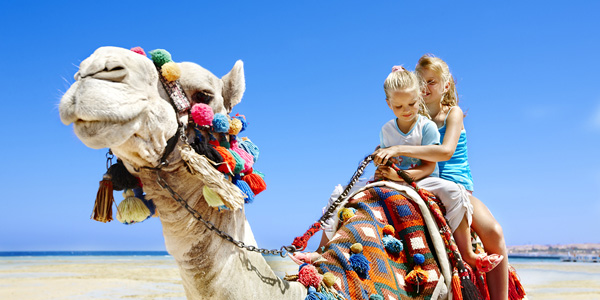 Family travel to Egypt