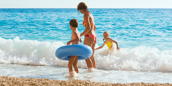 Enjoy the Mediterranean Sea with your family