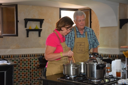 Morocco cooking class
