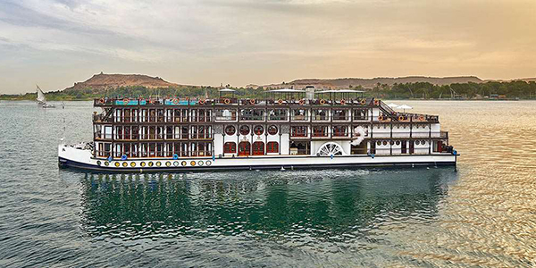 H.M. King Farouk's Luxurious Private Steam Ship The Misr